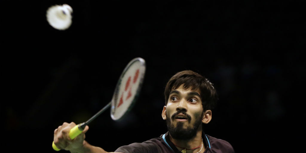 India's Srikanth into badminton's Australian Open semis