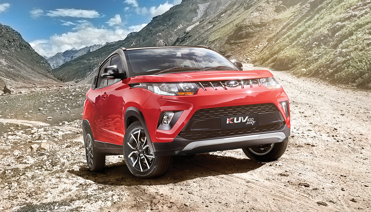 Automobile major Mahindra & Mahindra (M&M) launched a new model of its sports utility vehicle KUV100. The updated version, 'KUV100 NXT', is packed with 40 new features. The KUV100 NXT is priced in the range of Rs 4.5-7.5 lakh. Available in five variants, the SUV comes with 40 new features, including hi-tech ones like touchscreen infotainment system with GPS navigation and new driver information system with voice alert, among others.