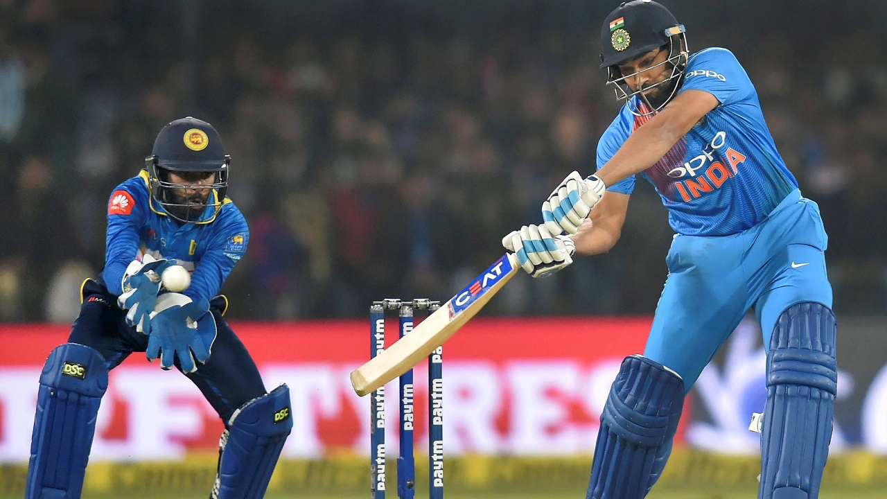 Rohit's record joint fastest century powers India to 260 in second T20I