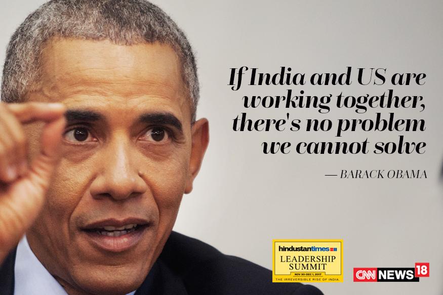 PM Modi hosts former US President Barack Obama