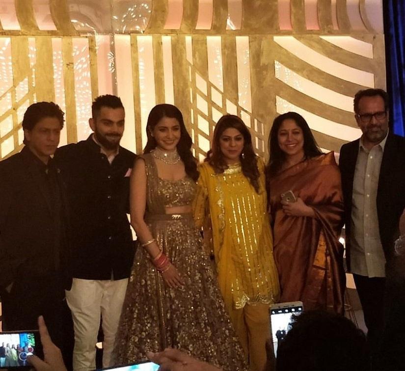 Virat Anushka Wedding Reception In Mumbai Couple Hosts Celeb Heavy