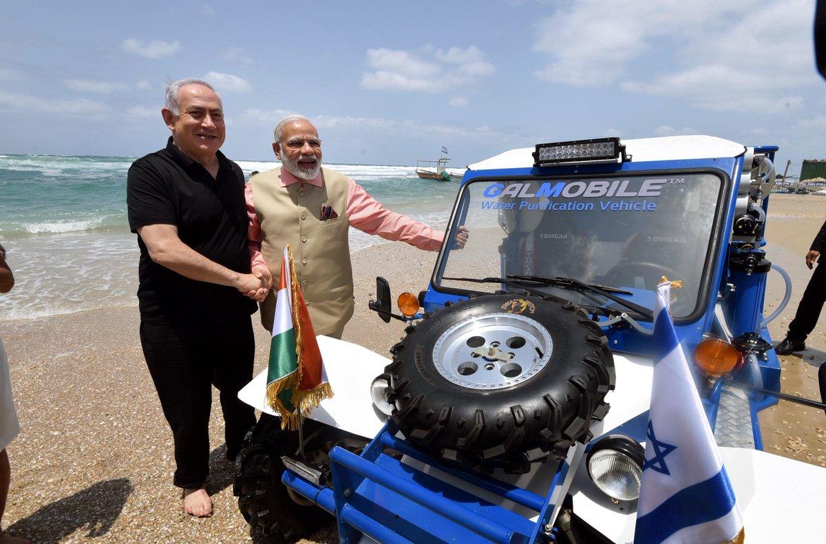 Israel's Netanyahu to visit India's Moodi to deepen ties