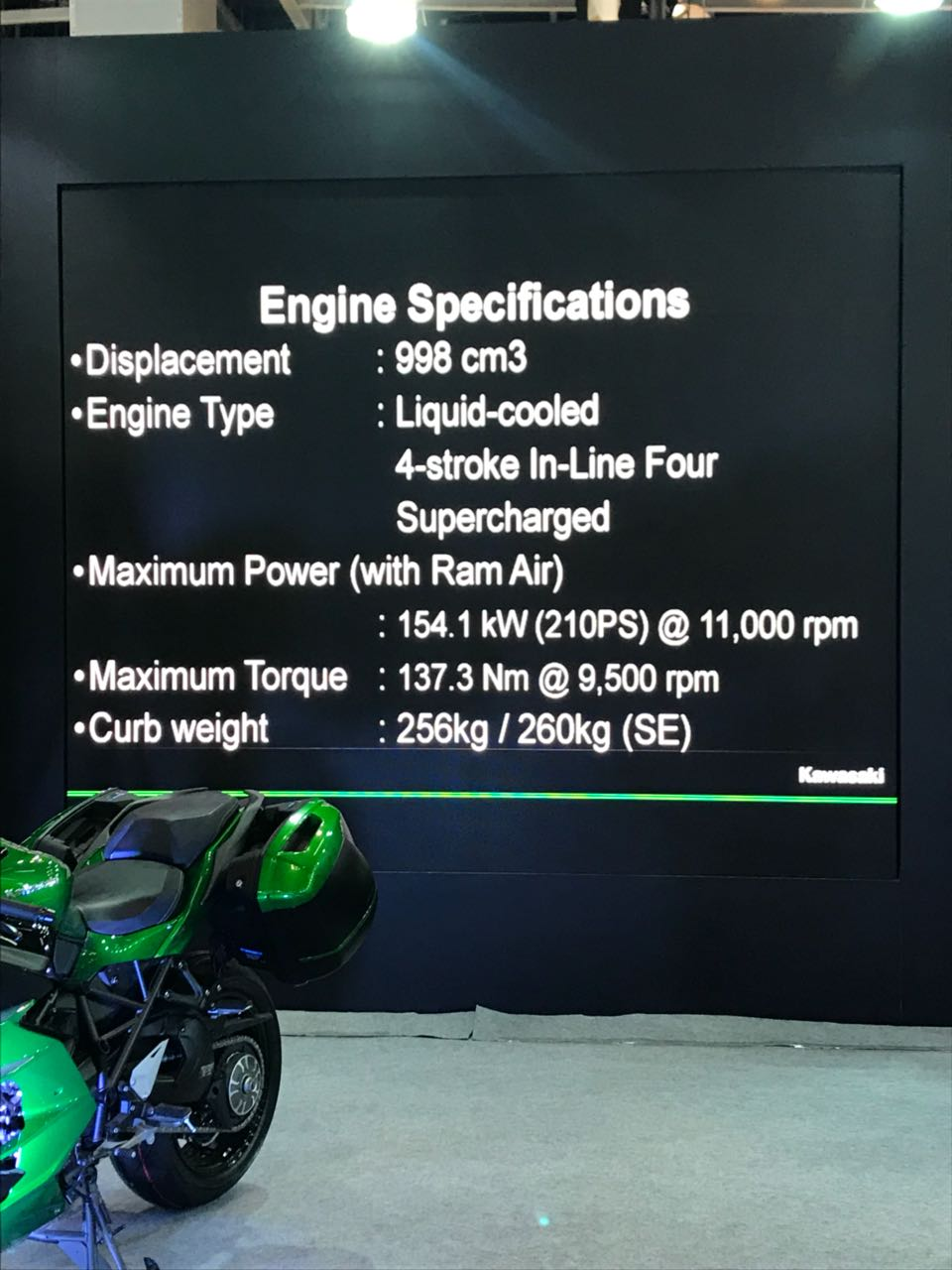 <p>Here are the engine specifications of the Kawasaki Vulcan S</p>