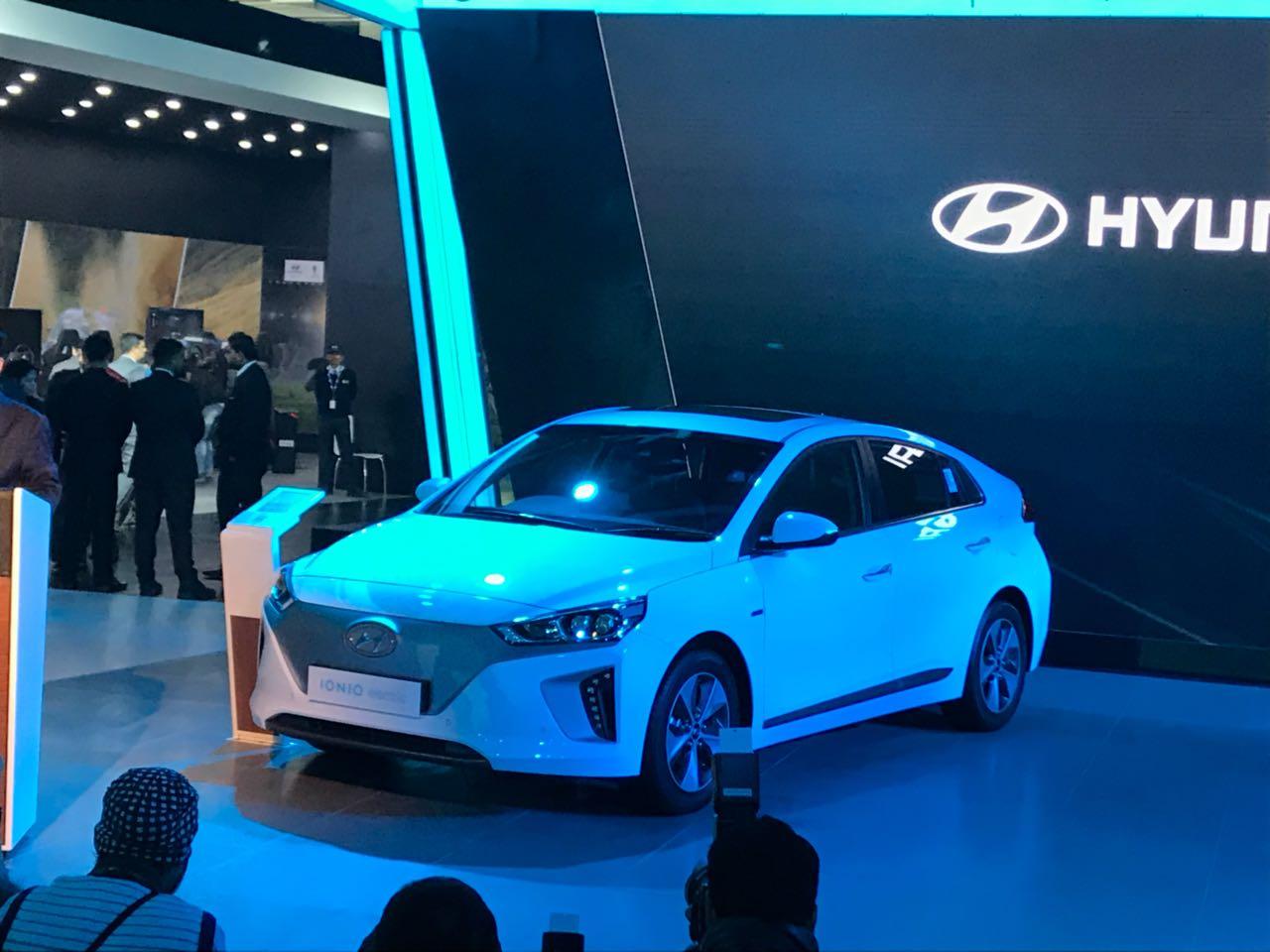 <p>The Hyundai Ioniq</p>