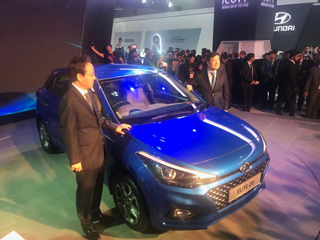 <p>The 2018 Hyundai Elitei20!</p>