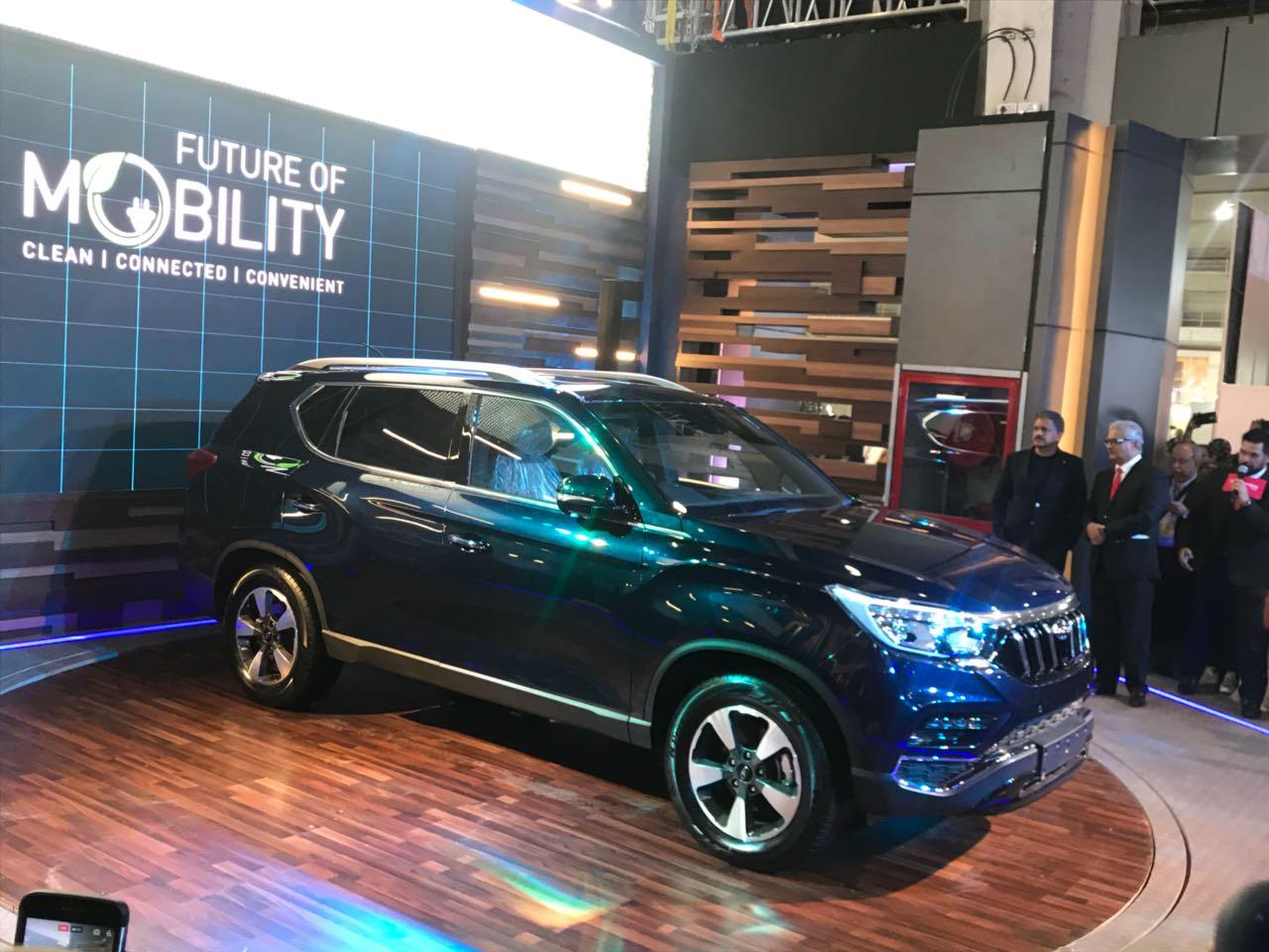 <p>That'sMahindra's premium SUV - sold internationally as theRextonG4!</p>