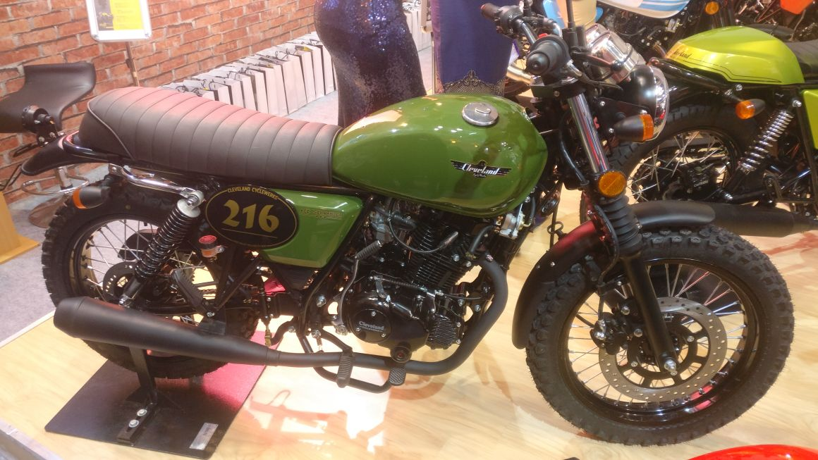 <p>Here's a look at the ClevelandCyclewerksAce Scrambler!</p>