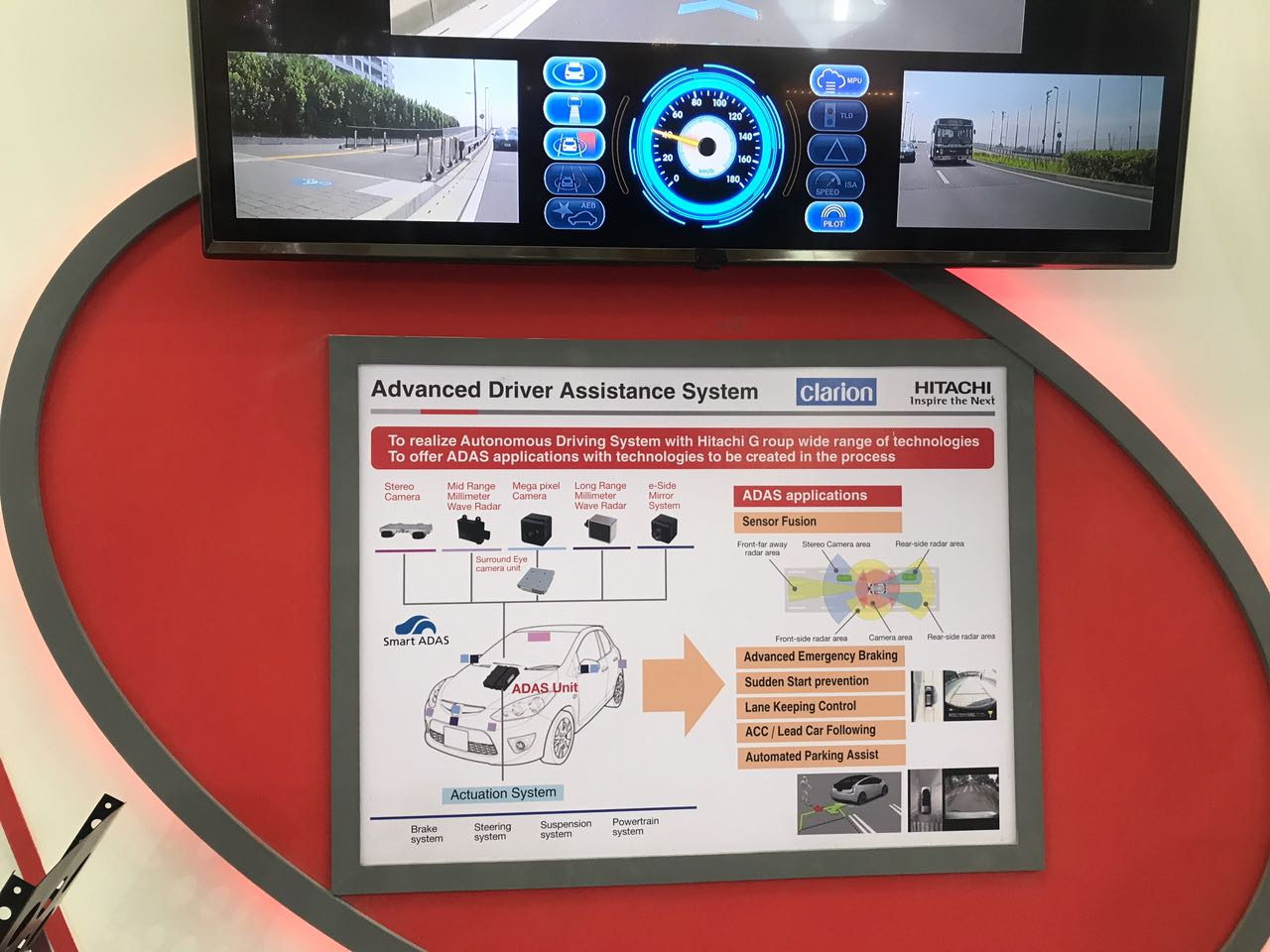 <p>Hitachi has showcased a new gen advanced driver assistance system for autonomous driving.</p>