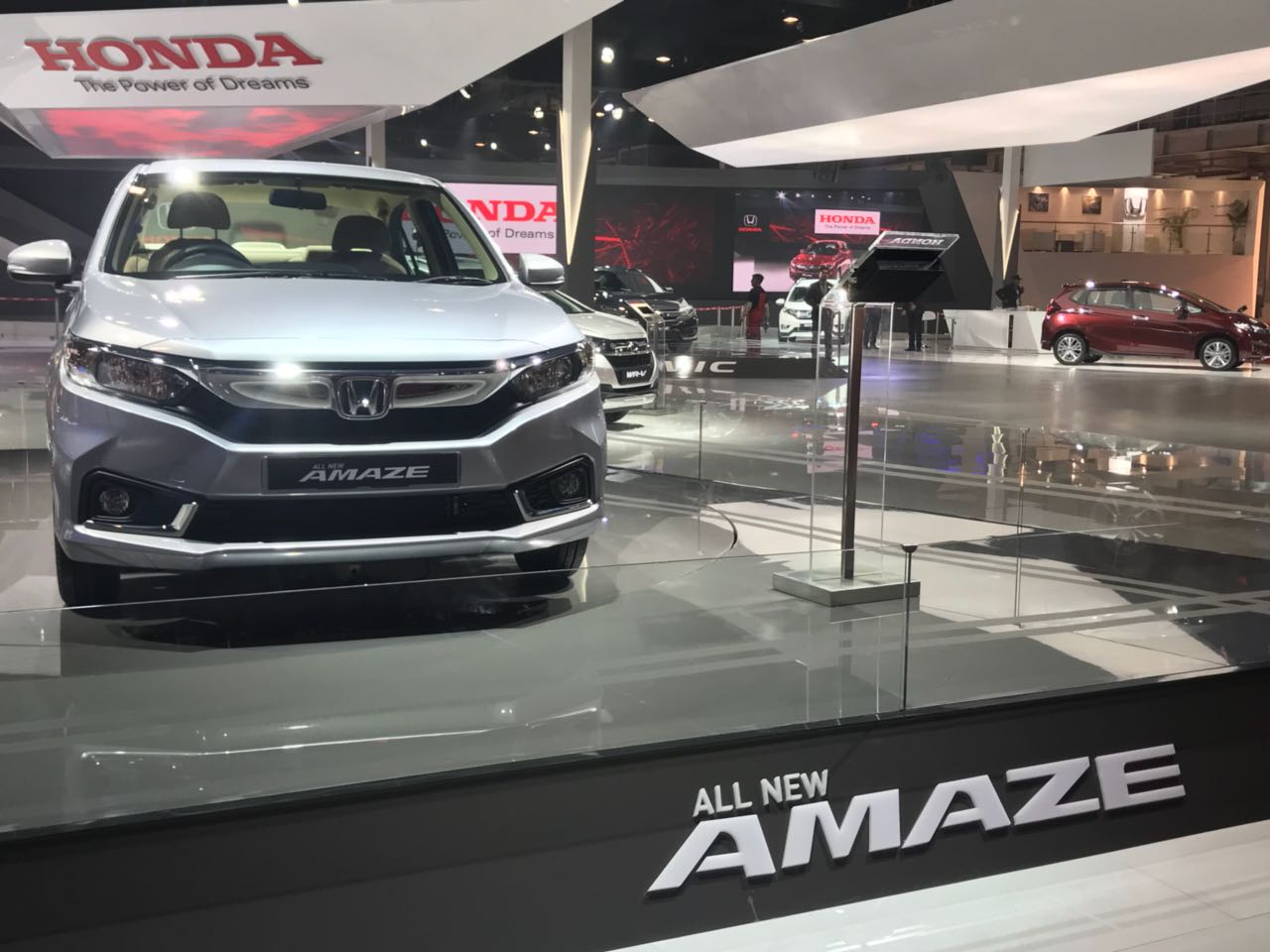 <p>The all-new Honda Amaze!</p>