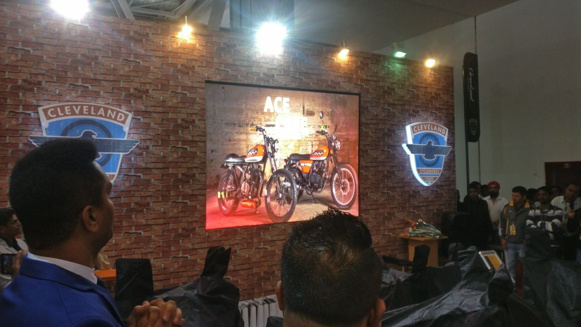 <p>Here's a look at the Cleveland models for India. The Ace Cafe!</p>