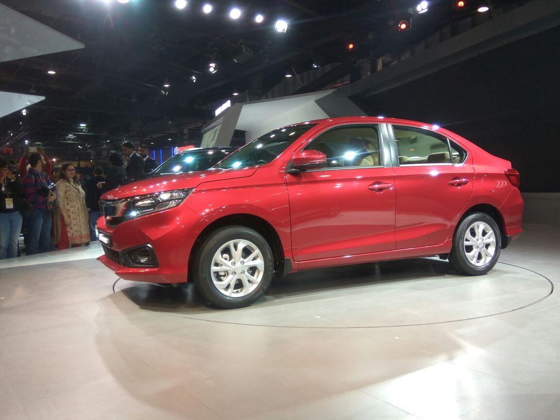 Generation Honda Amaze Debuts at 2018 Auto Expo