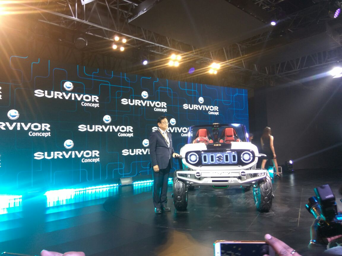 <p>TheMarutiSuzuki e-Survivor!</p>
