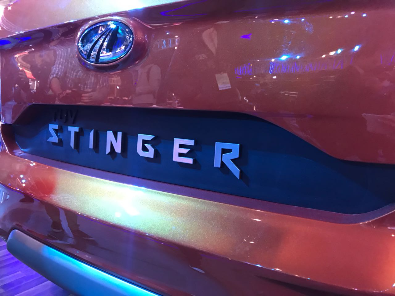 <p>The Mahindra Stinger details and interiors</p>
