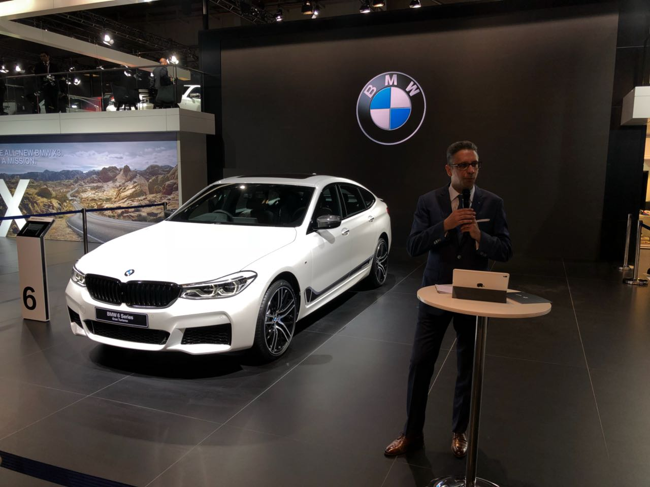 <p>The BMW X6 35i, M3 and M4 are being launched today!</p>