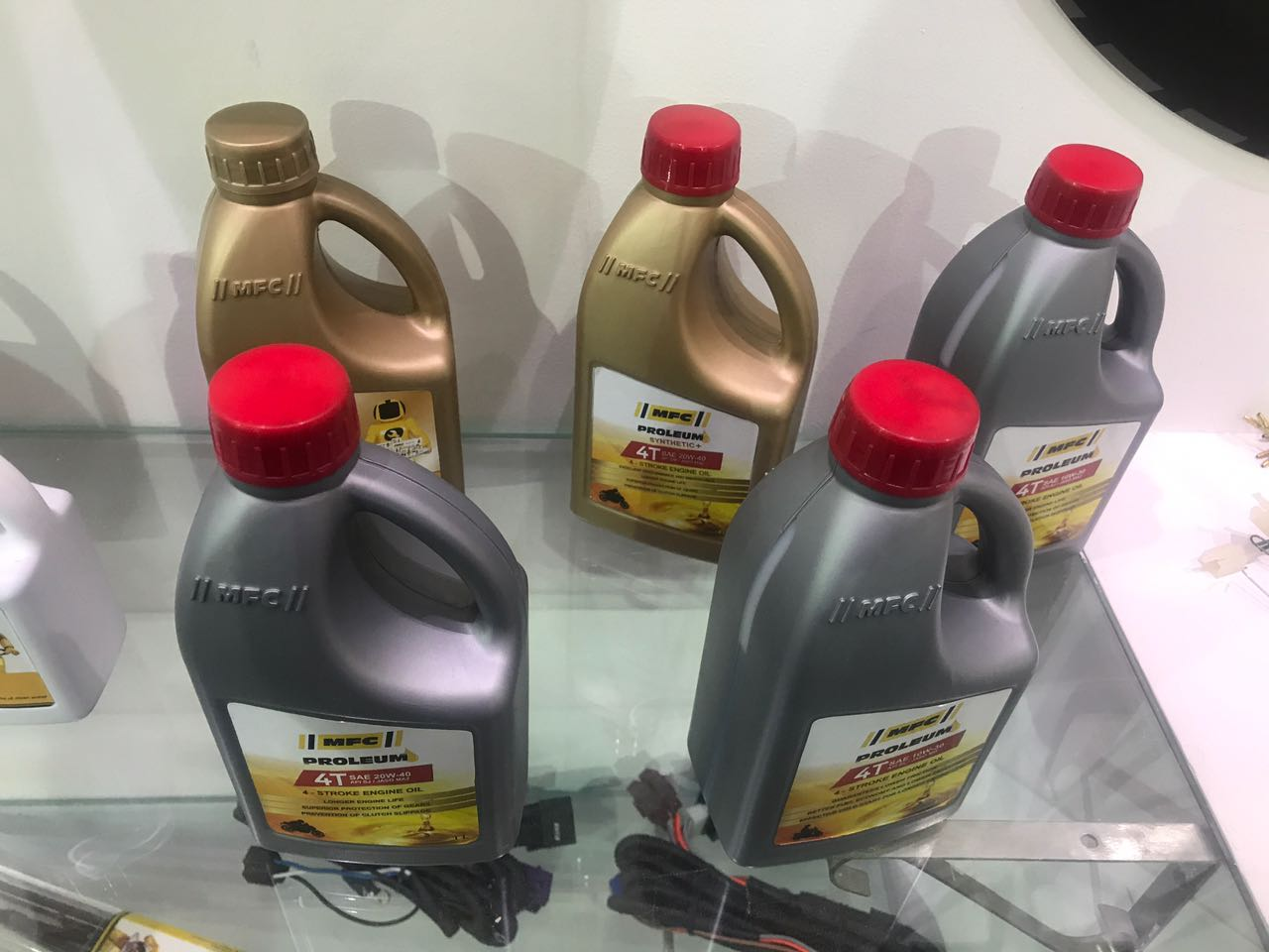 <p>MFC has now ventured into 2-wheeler lubrication business. Prices will be out by the end of this month.</p>