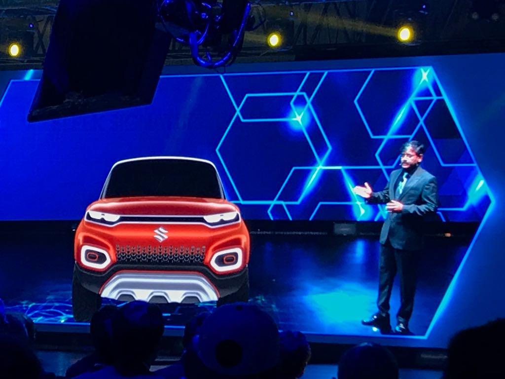 <p>Here's a look at the Maruti Suzuki Concept Future-S</p>