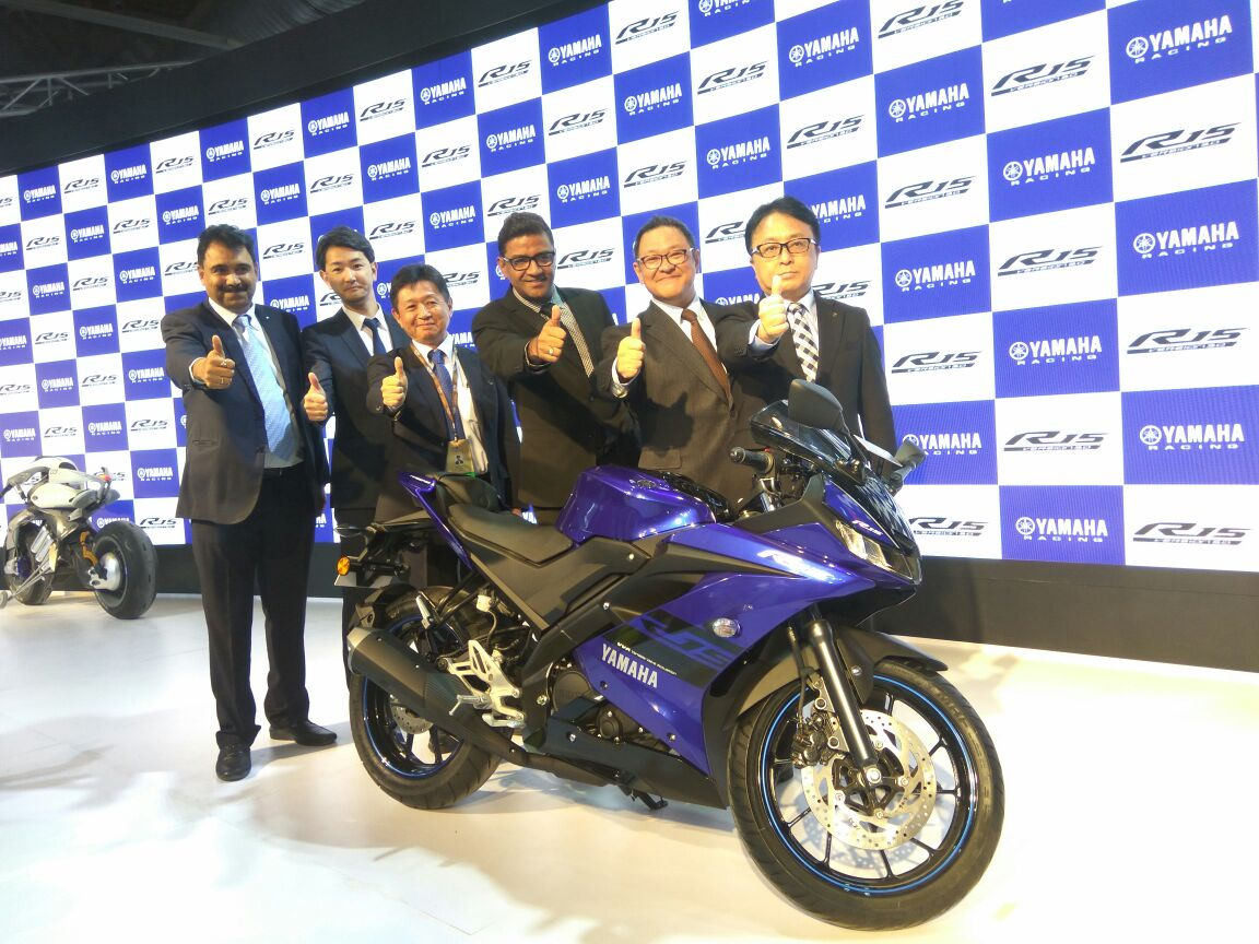 <p>The Yamaha R15 V3!</p>