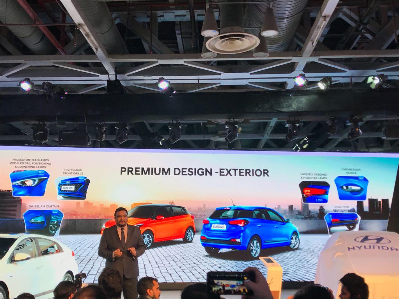 <p>The 2018 Hyundai Elite i20 !</p>