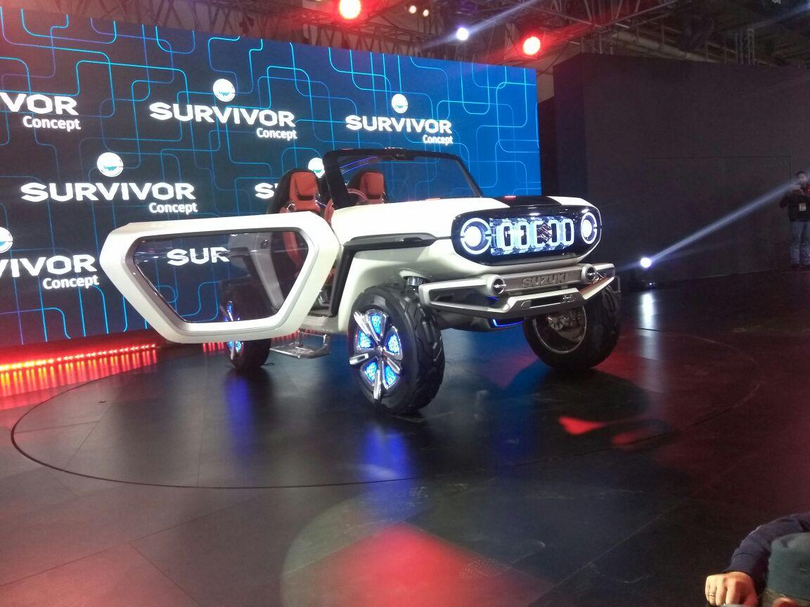 <p>The Maruti Suzuki e-Survivor!</p>
