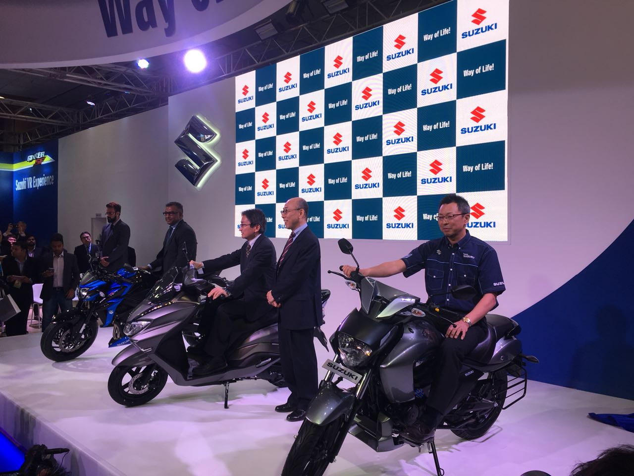 <p>From the Suzuki stall at Auto Expo 2018!</p>