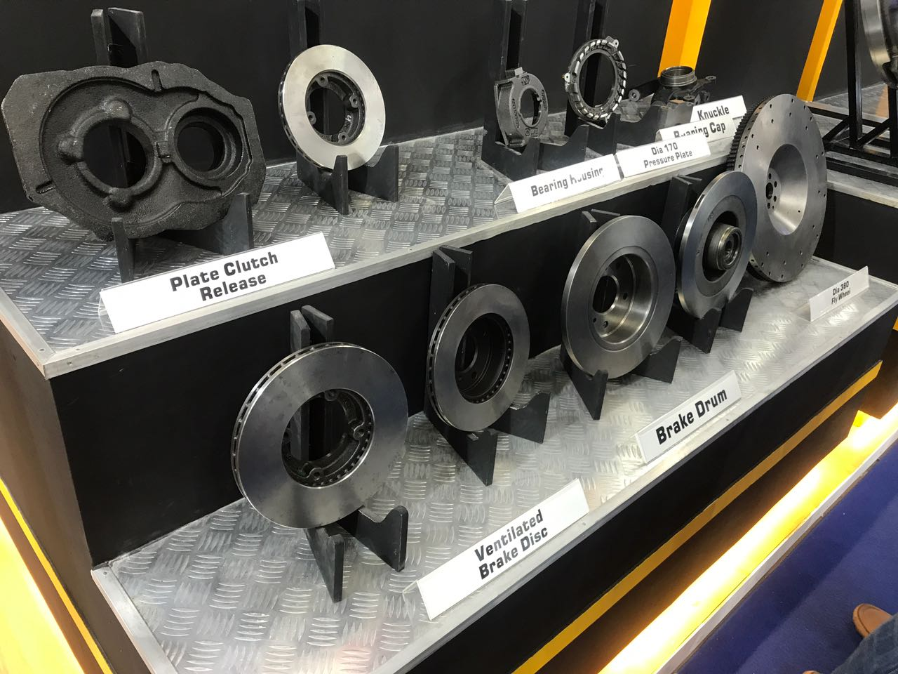 <p>Setco Automotive has a range of products at display that includes bearing housing, ventilated brake disc, plate clutch release and also bearing caps</p>