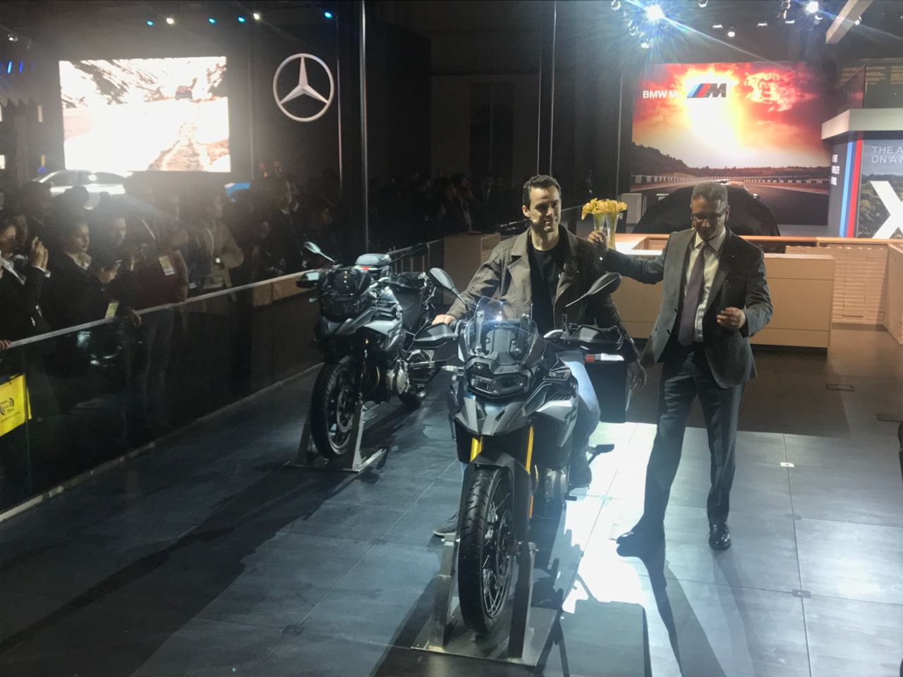 <p>BMW F750 and F850 GS showcased</p>