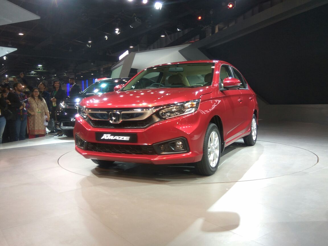 New Honda Amaze Is Like A Teapot Accord; We're Not Amazed