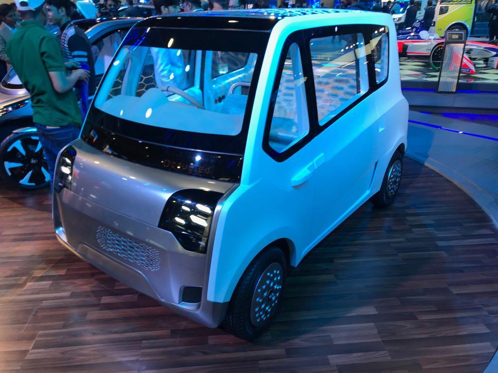 <p>Maruti Suzuki E survivor concept showcased</p>