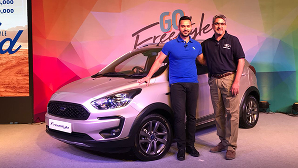 <p>The Ford Freestyle has been launched at a starting price of Rs 5.09 lakh (ex-showroom, Delhi)</p>
