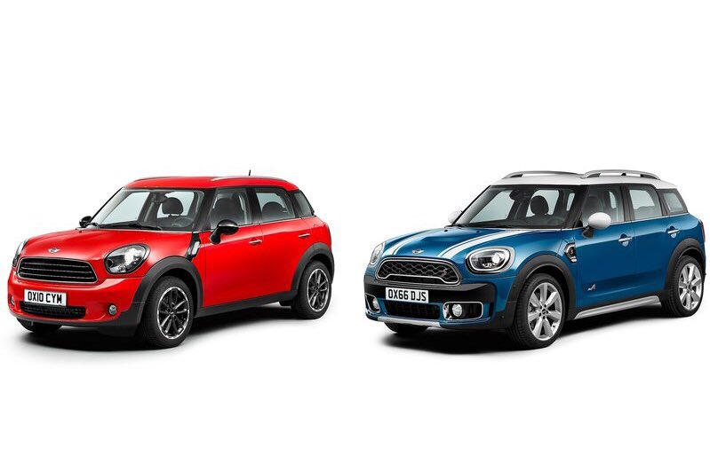 <p>The second-generation Mini Countryman is 200mm longer and 30mm wider than the outgoing car.</p>