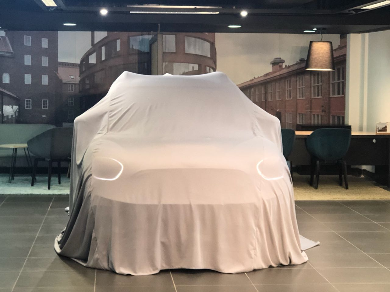 <p>Under the wraps in the all-new, second-generation Mini Countryman!</p>