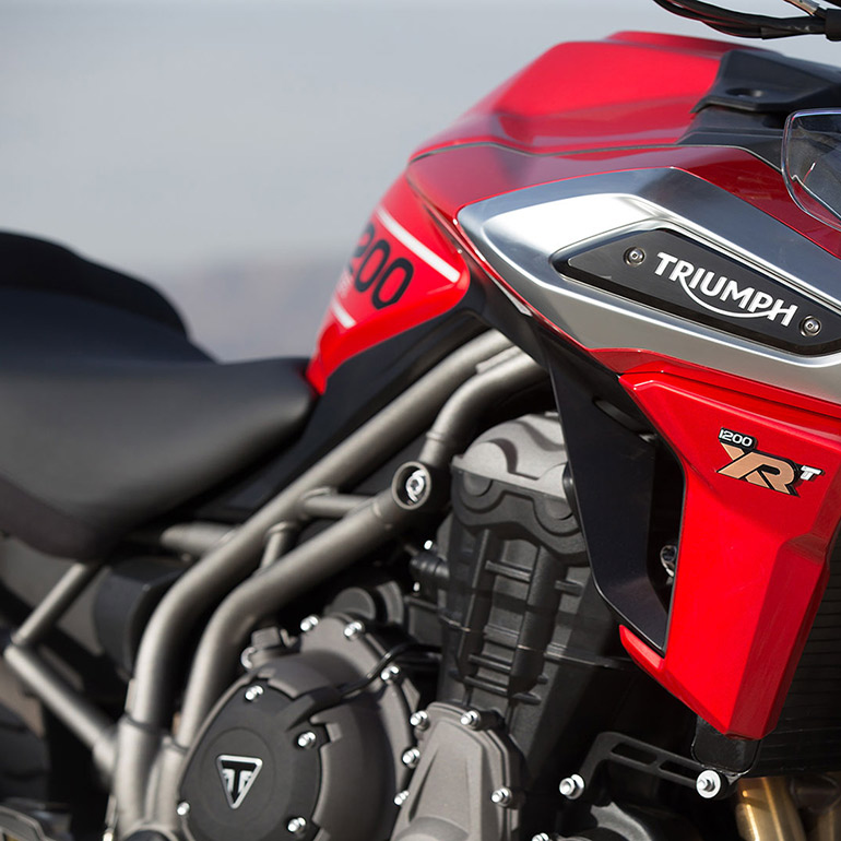 <p>Triumph will be launching the new-gen version of its flagship offering the Tiger 1200 in India</p>