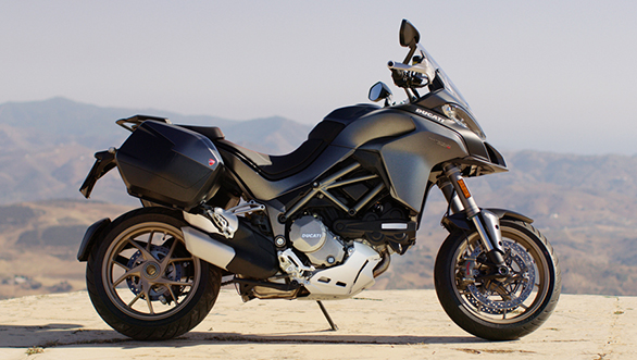 """<p>The Multistrada 1260 engine's refinement is unprecedented for a Ducati twin-cylinder engine. It's smooth, slick and almost entirely vibration free unless you're roaring along near the redline. <a href=""""http://overdrive.in/news/2018-ducati-multistrada-1260-launched-in-india-at-rs-15-99-lakh/"""">Read ourMultistrada1260 launch article here</a></p>"""