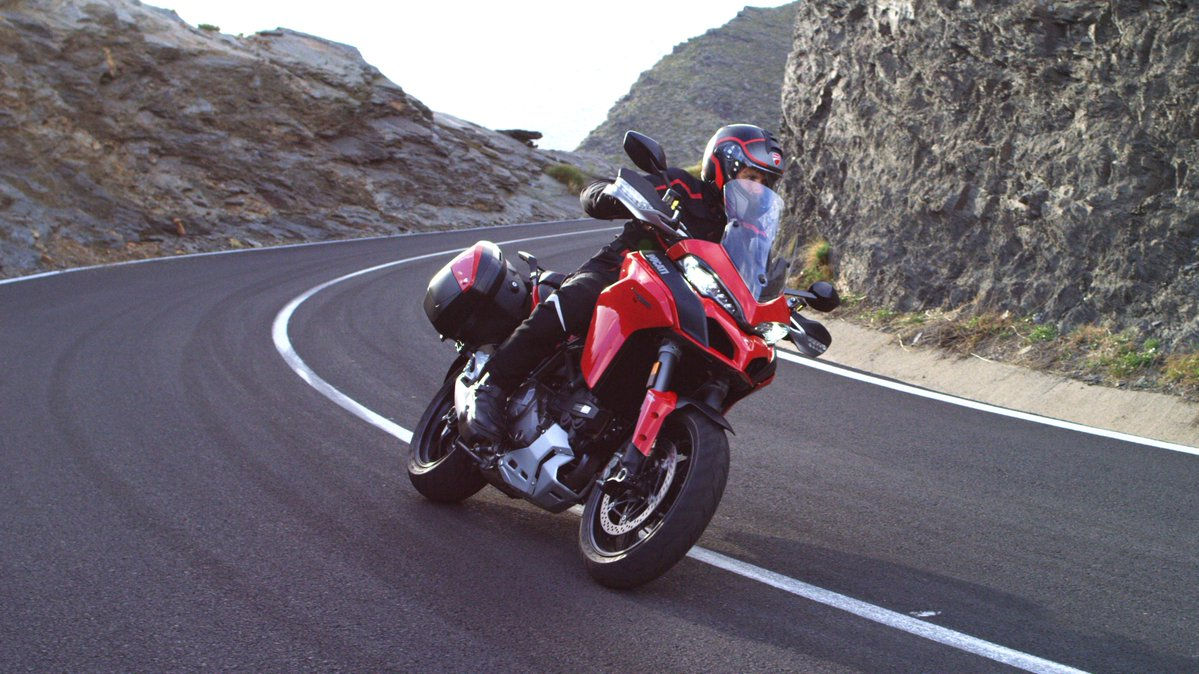 <p>The new Multistrada 1260 is said to offerthe best power to weight ratio in its class</p>