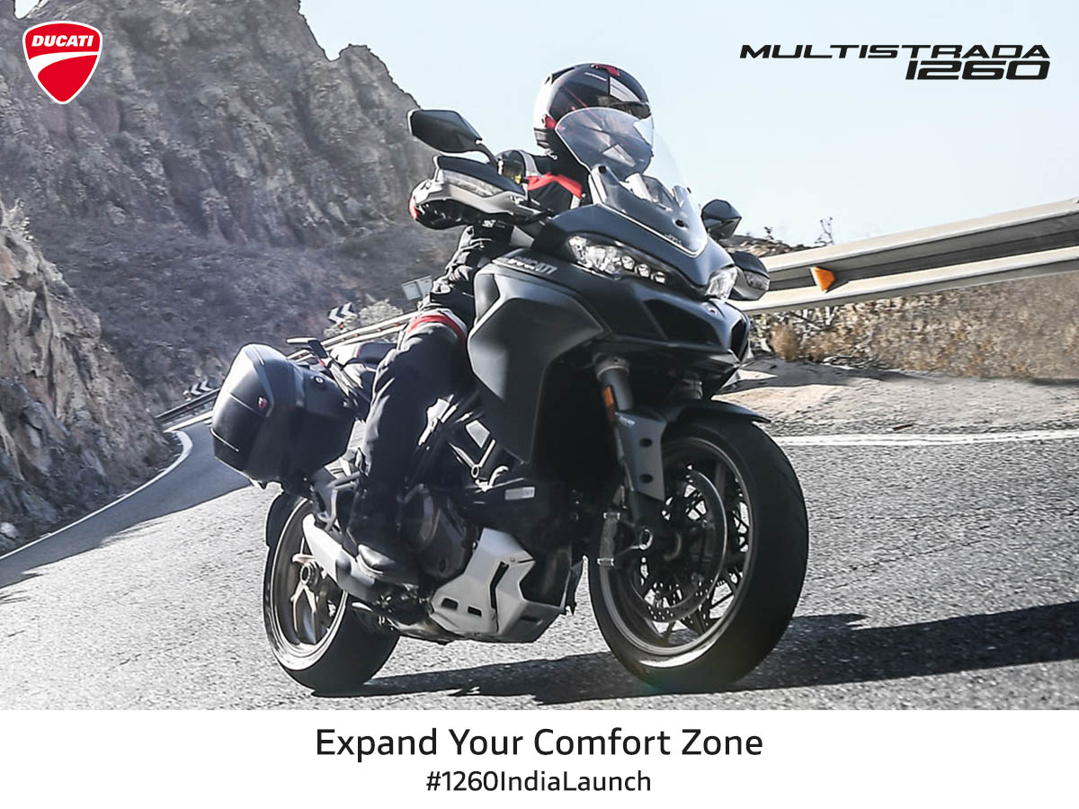 <p>TheDucati Multistrada 1260 and 1260 S have been launched in India at an introductory price of INR 15.99 lakh and INR 18.06 lakh (pan India)</p>