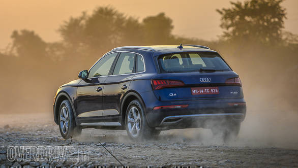 <p>The Audi Q5 petrol has the most powerful engine in its class at 252PS, with a 237kmph top speed and 0-60kmph time of 6.3s.</p>