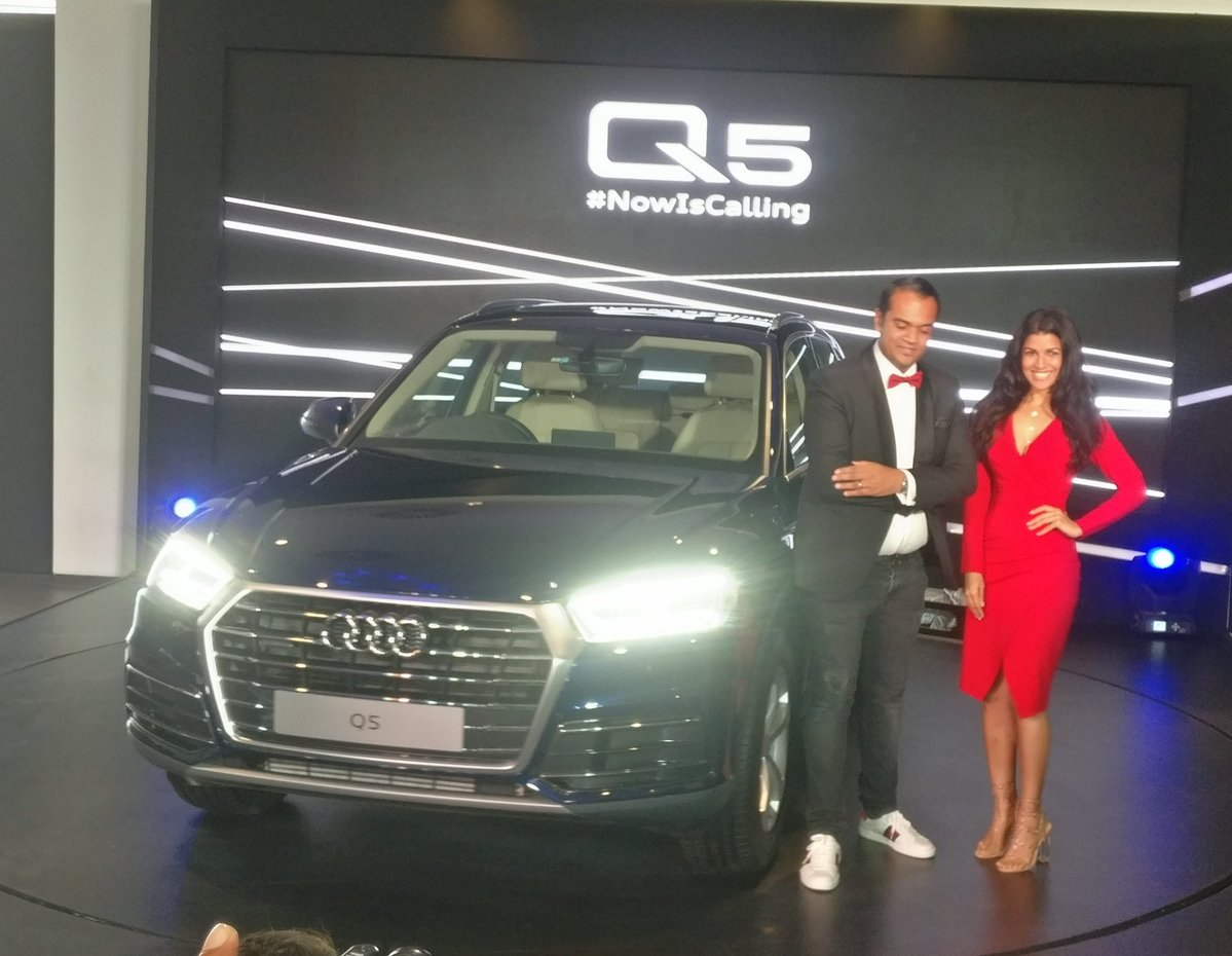 <p>So here it is, the Audi Q5 Petrol SUV launched in India at Rs 55.27 lakh (ex-showroom)</p>