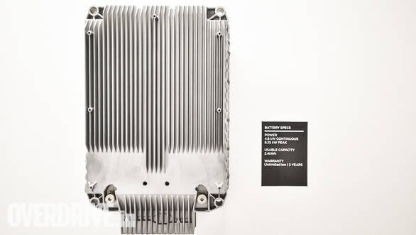 <p>Ather Energy has developed and built the battery pack in-house, cells for the battery have been sourced from suppliers like Samsung, Panasonic etc</p>