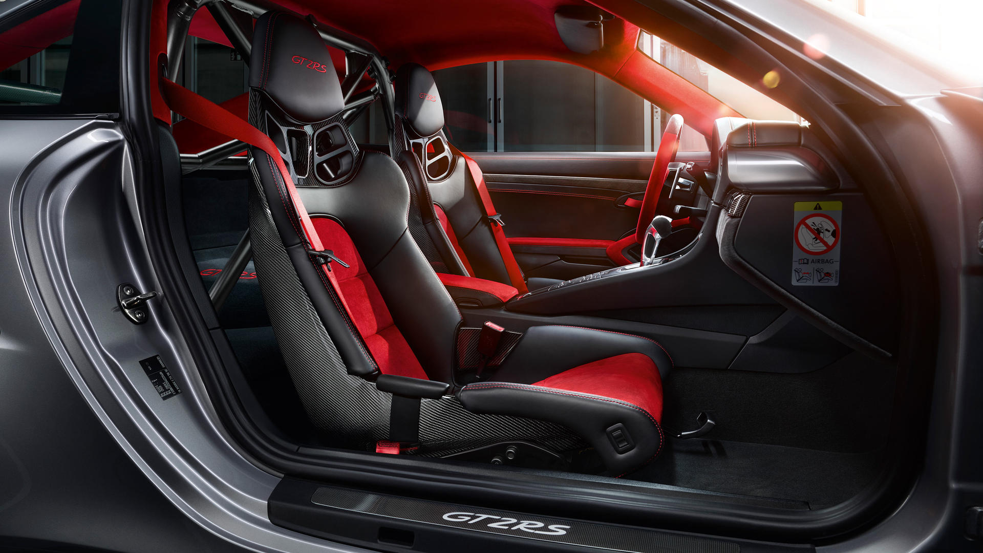 <p>There's stuff like rear-axle steering to help the car go quicker around corners along with torque vectoring that ensures all four wheels have optimum traction and power.</p>