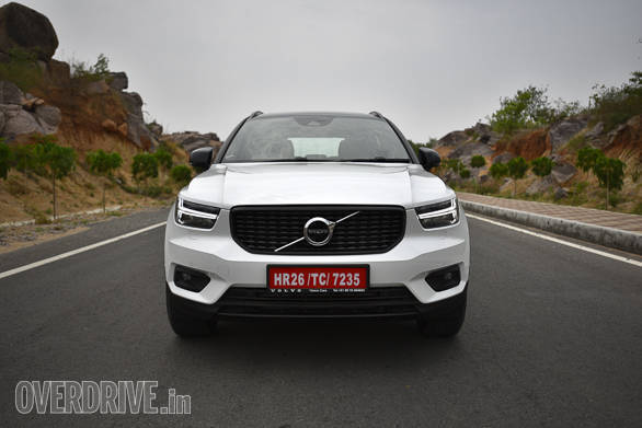<p>Volvo XC40 is one of the few automobiles to closely resemble its original concept, in this case, the Volvo 40.1 Concept showcased last year</p>