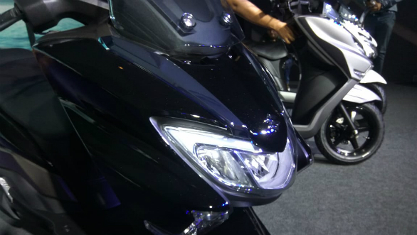 <p>The 125cc engine produces 8.7 PS and 10.2 Nm. kerb weight has increased by 8 kgs over the Access 125 due to the new bodywork.</p>