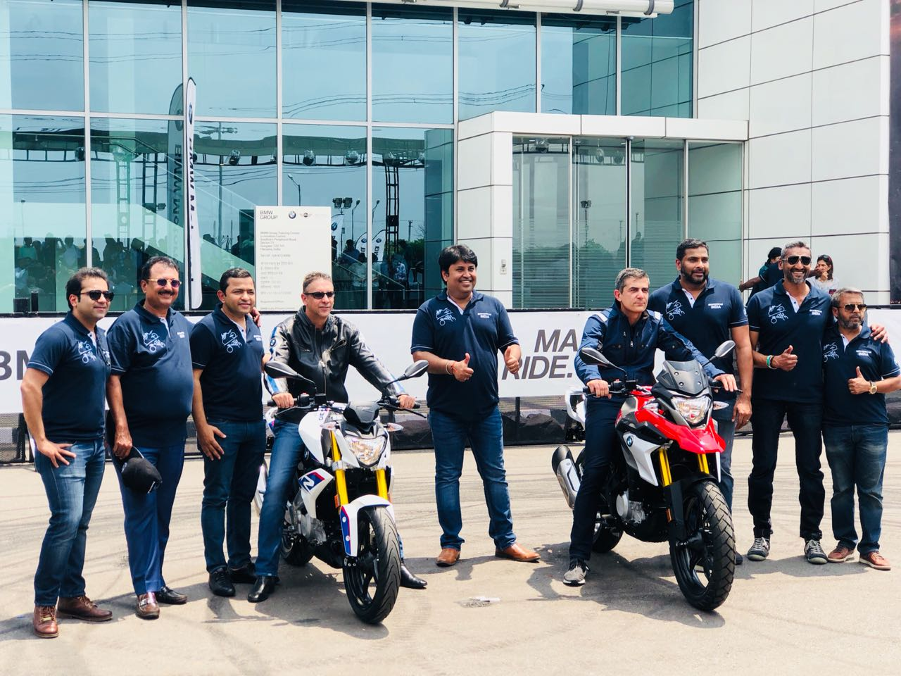 "<p><a href=""http://overdrive.in/news-cars-auto/official-bmw-motorrad-india-launches-g-310-r-and-g-310-gs-motorcycles-at-rs-2-99-and-rs-3-49-lakh/"">PRICES OUT: The G 310 R is priced at Rs 2.99 lakh and the G 310 GS will cost 3.49 lakh. All prices ex-showroom.</a></p>"