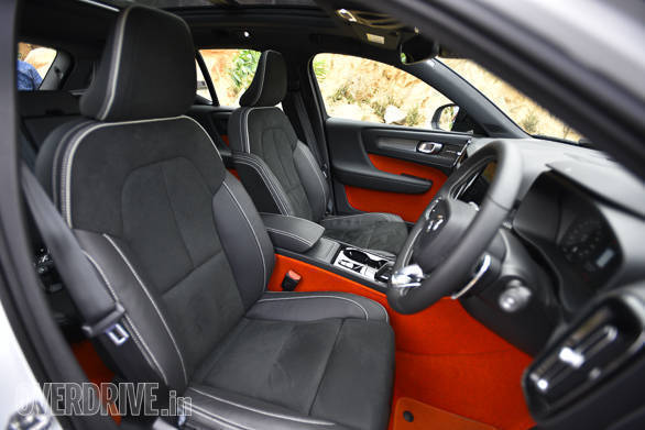 <p>The R-Design is the top of the line variant of the XC40 and boasts significantly higher equipment levels than its rivals like the Audi Q3, BMW X1 and Mercedes-Benz GLA</p>