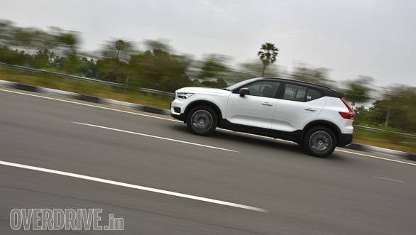 <p>The Volvo XC40 R-Design gets a fourth-generation Haldex all-wheel drive system as standard</p>