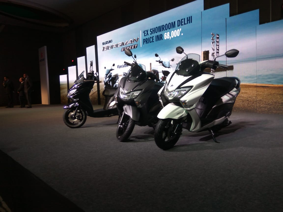 <p>The Suzuki Burgman Street has been launched in India at Rs 68,000 ex showroom</p>