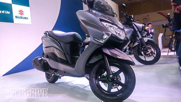 <p>The Burgman Street is positioned as a premium offering by Suzuki India.</p>