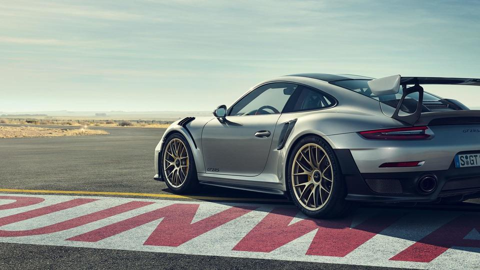 <p>The Porsche 911GT2 RS is pretty much a road legal track machine with limited units being produced.</p>