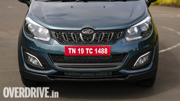 <p>The Mahindra Marazzo is the world's first automobile to use the combination of a body onframe chassis with a front wheel drive system and a transversely mounted engine and the samehas been patented by Mahindra</p>