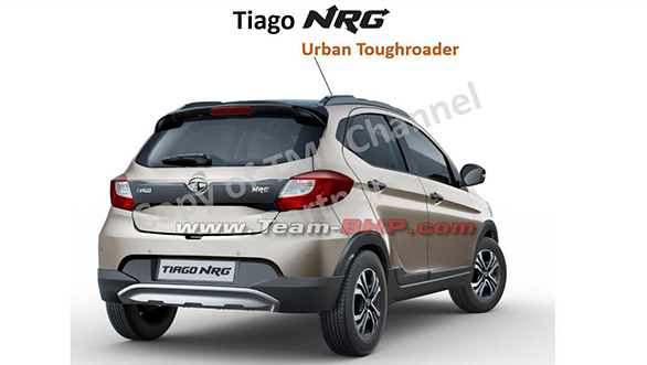 <p>The NRG receives a black body kit, that includes two-tone front bumpers as well as integrated silver scuff plates, side skirts and cladding around wheel arches as well as tailgate. The grille, roof, mirrors, and B-pillar get blacked out treatment.</p>