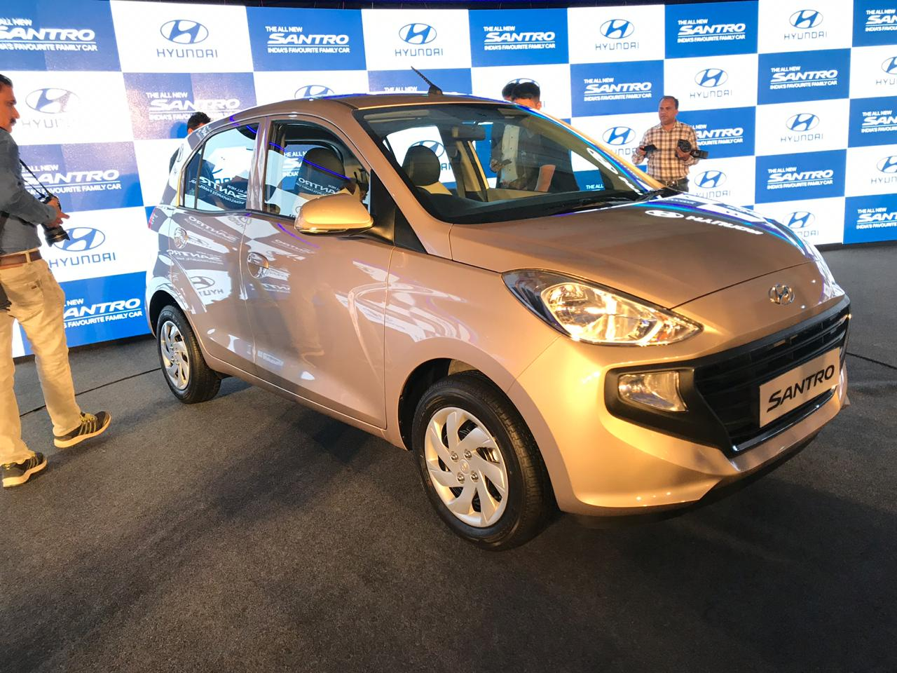 live updates: 2018 hyundai santro india launch - overdrive